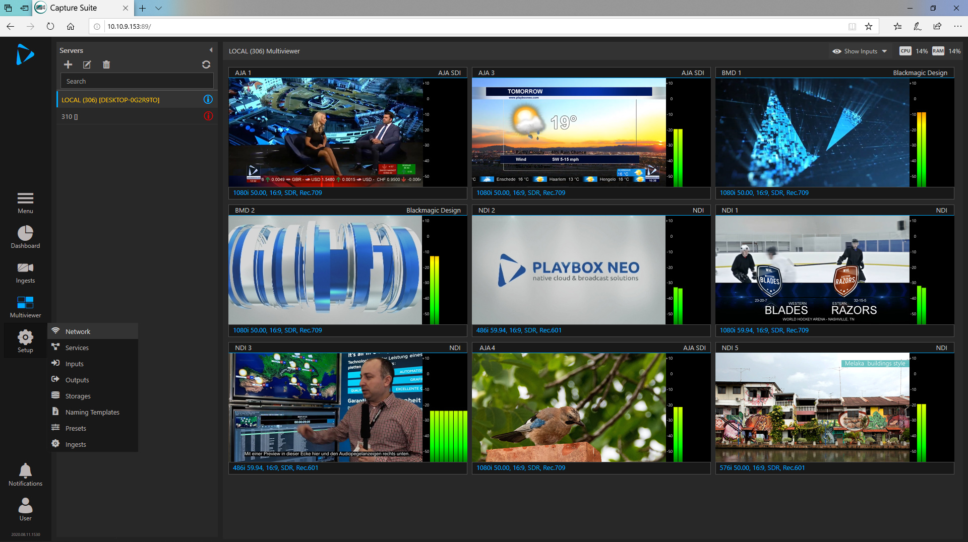 PlayBox Neo Capture Suite GUI
