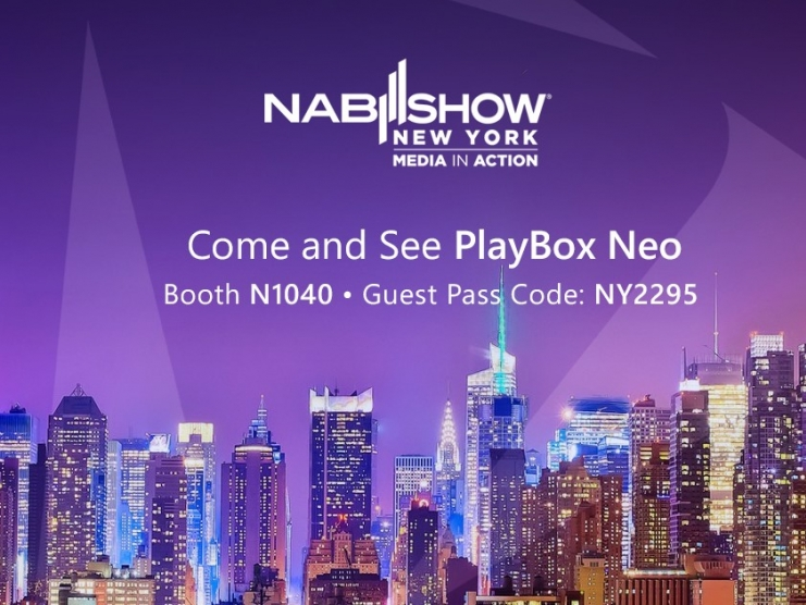 Experience PlayBox Channel In a Box Neo and CloudAir at NAB NY