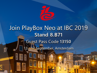 PlayBox Neo at IBC 2019