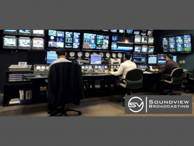 SoundView Broadcasting control room