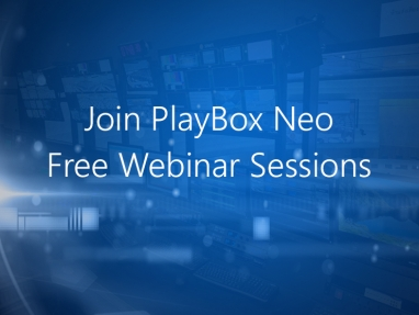 Join PlayBox Neo Webinars Sessions